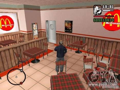 Mc Donalds for GTA San Andreas eleventh screenshot