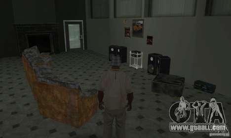 New Interiors - Mod for GTA San Andreas twelth screenshot