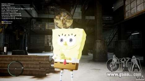 Spongebob for GTA 4 fifth screenshot