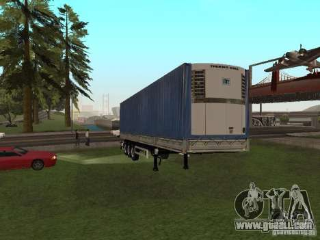 New trailer for GTA San Andreas left view