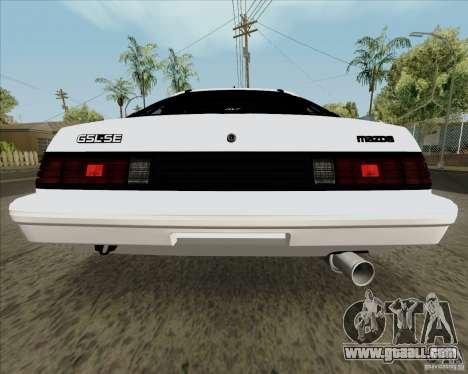 Mazda RX-7 FB Race for GTA San Andreas right view