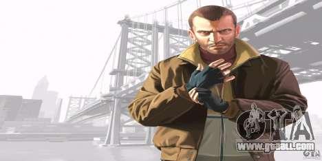Boot screens of GTA IV v. 2.0 for GTA San Andreas