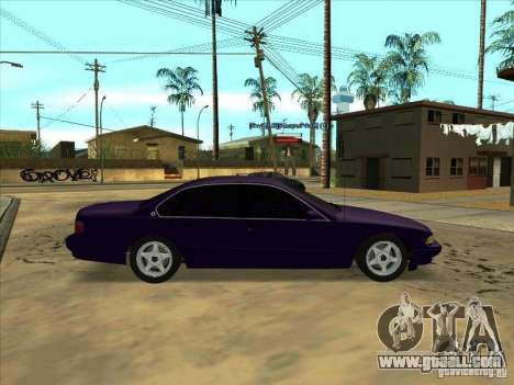 Chevrolet Impala SS 1995 for GTA San Andreas left view