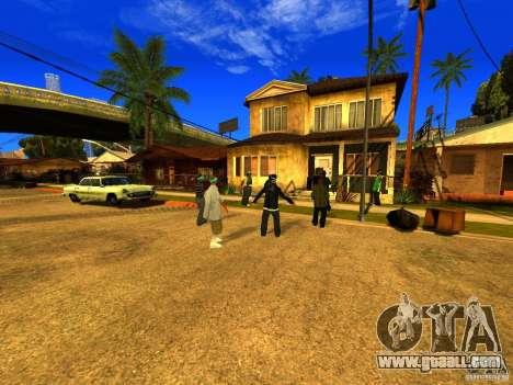 Party area for GTA San Andreas third screenshot