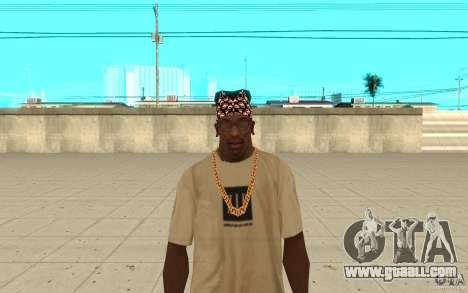 Bandana superman for GTA San Andreas