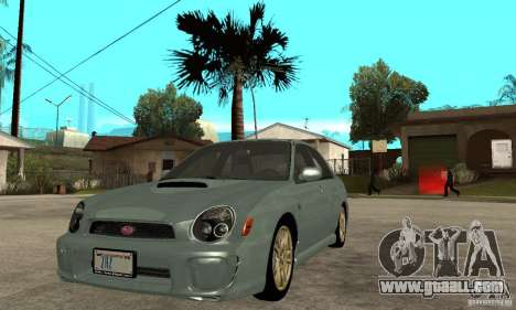 Subaru Impreza 2002 Tunable - Stock for GTA San Andreas left view