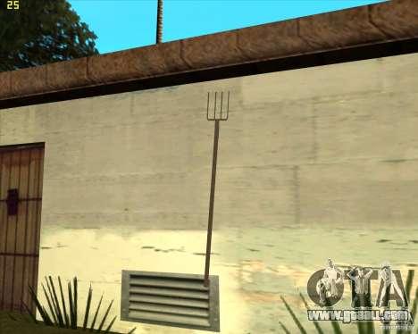 Pitchfork for GTA San Andreas second screenshot