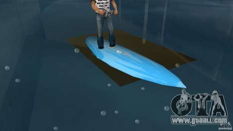 Surfboard 3 for GTA Vice City left view