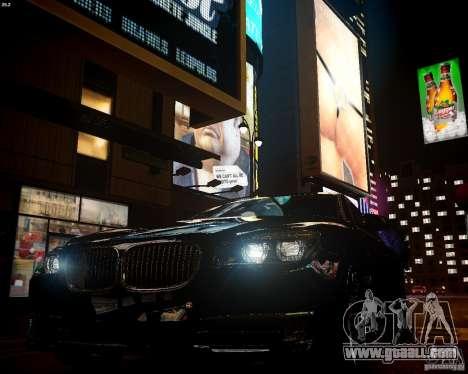 BMW 750Li 2013 for GTA 4 back view