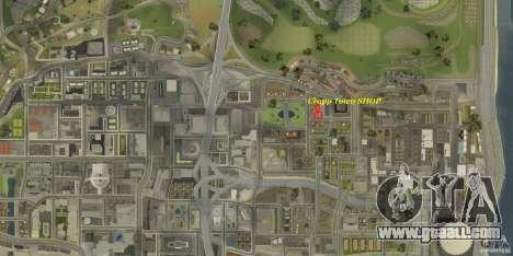 Cropp Town SHOP for GTA San Andreas forth screenshot