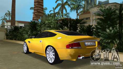 Aston Martin V12 Vanquish 6.0 i V12 48V v2.0 for GTA Vice City back left view