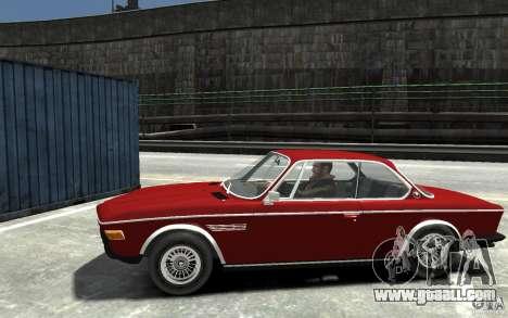 BMW 3.0 CSL E9 1971 for GTA 4 left view