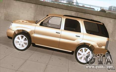 Cadillac Escalade 2004 for GTA San Andreas left view