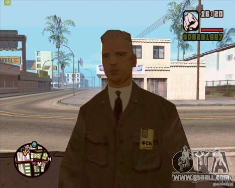 Russian security service for GTA San Andreas sixth screenshot