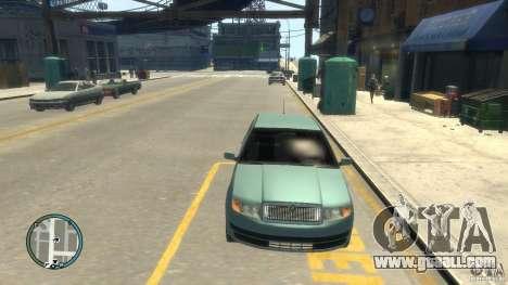 Skoda Fabia for GTA 4 back view