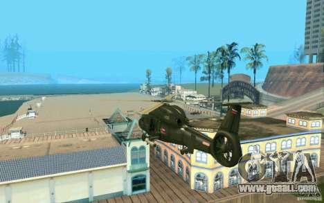 Ka-60 Kasatka for GTA San Andreas back left view