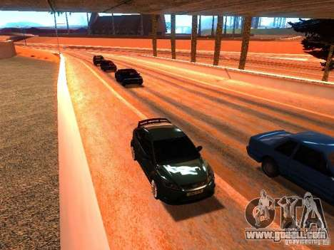 Normal drivers on the track for GTA San Andreas forth screenshot