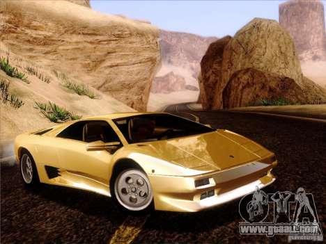 Lamborghini Diablo VT 1995 V3.0 for GTA San Andreas