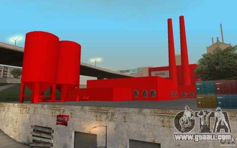 The Coca-cola Factory for GTA San Andreas