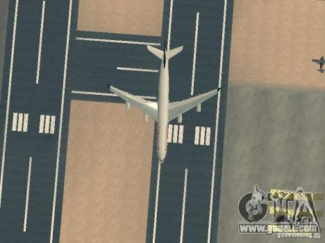 Airbus A340-300 Air Canada for GTA San Andreas upper view