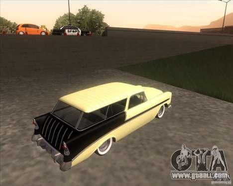 Chevrolet Bel Air Nomad 1956 custom for GTA San Andreas left view