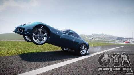 TVR Sagaris for GTA 4 bottom view