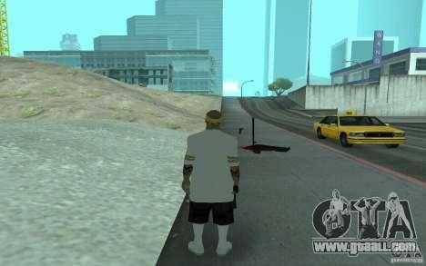 New skins Los Santos Vagos for GTA San Andreas sixth screenshot