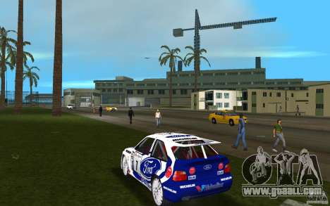 Ford Escort Cosworth RS for GTA Vice City back left view