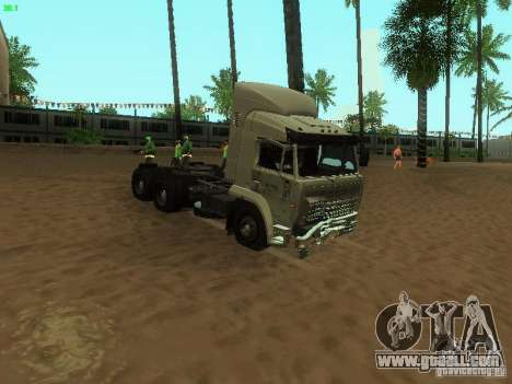 KAMAZ 6460 for GTA San Andreas inner view