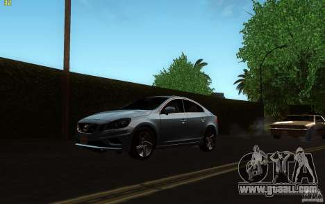 Volvo S60 2011 for GTA San Andreas left view