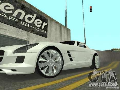 Luxury Wheels Pack for GTA San Andreas second screenshot
