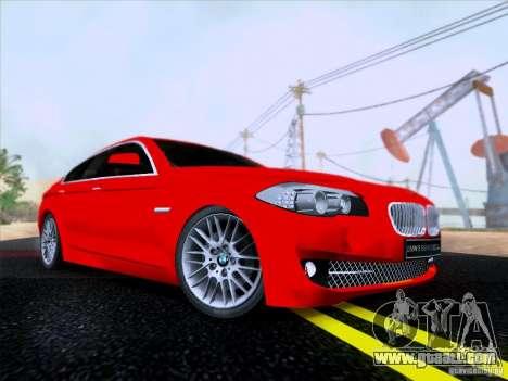 BMW 550i 2012 for GTA San Andreas