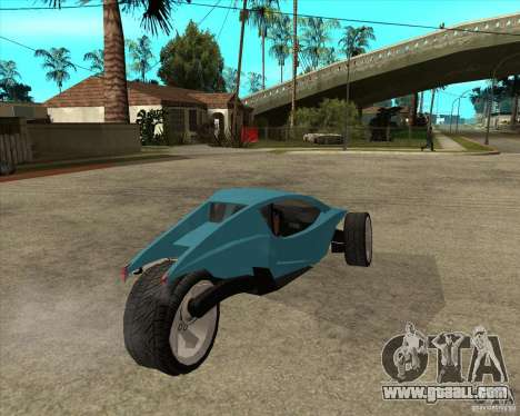 AP3 cobra for GTA San Andreas back left view