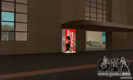 Cola Automat 6 for GTA San Andreas second screenshot