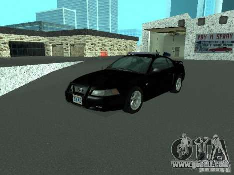 Ford Mustang GT Police for GTA San Andreas
