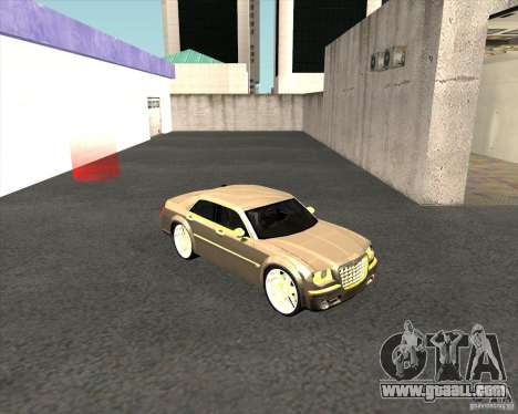 Chrysler 300C dub edition for GTA San Andreas right view