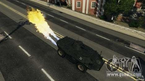 Tank Mod for GTA 4 forth screenshot