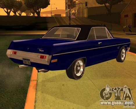 1971 Plymouth Scamp for GTA San Andreas back view
