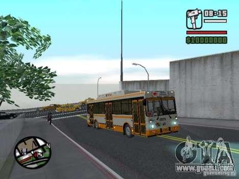 LIAZ 5283.70 for GTA San Andreas back view