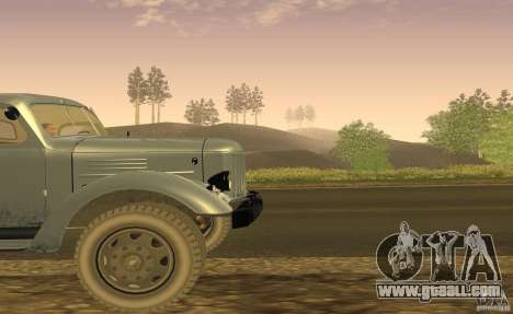 ZIL 164 Tractor for GTA San Andreas inner view