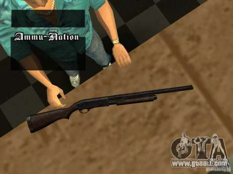 Remington 870 Action Express for GTA San Andreas