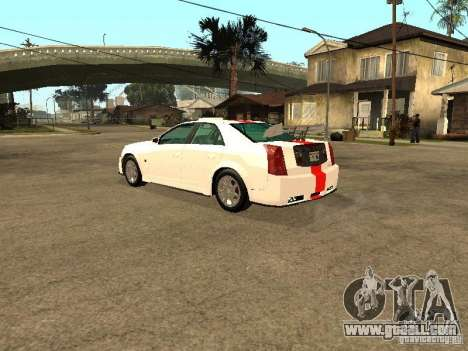 Cadillac CTS 2003 Tunable for GTA San Andreas side view