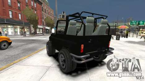 UAZ-3150 Varmint for GTA 4 back left view