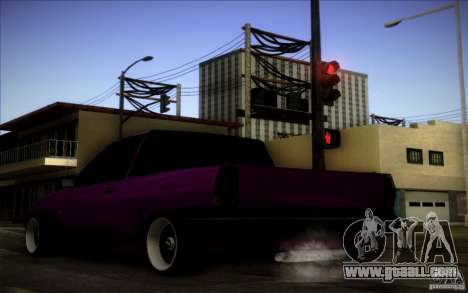 Volkswagen Polo Pickup for GTA San Andreas right view