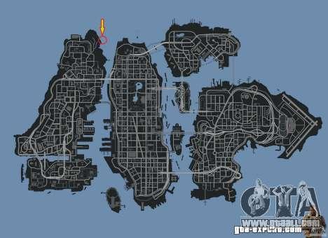 4x4 Trail The Reef for GTA 4 forth screenshot