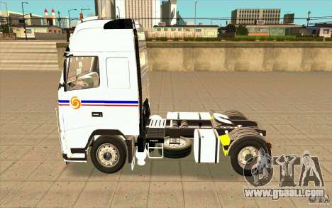 Volvo FH16 Globetrotter TRANSALLIANCE for GTA San Andreas left view