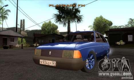 2141 AZLK People Edition for GTA San Andreas