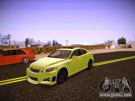 Lexus I SF for GTA San Andreas