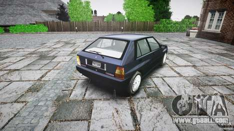 Lancia Delta HF 4WD for GTA 4 back left view