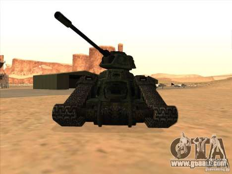Tank from the game TimeShift for GTA San Andreas left view